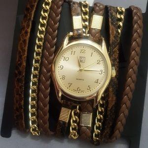New York & Co watch & bracelet
